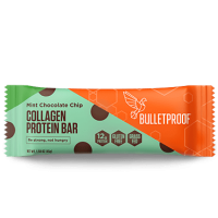 Mint Chocolate Chip Collagen Protein Bar