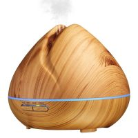 Wooden Volcano Diffuser (Light Wood Cover)