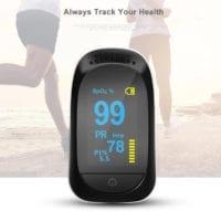 Sleep Wireless Finger pulse Oximeter With Bluetooth
