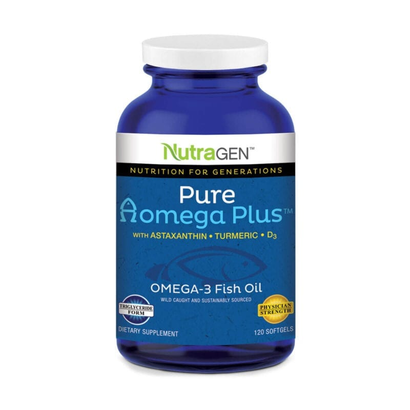 Pure Ωomega Plus Softgel Capsules