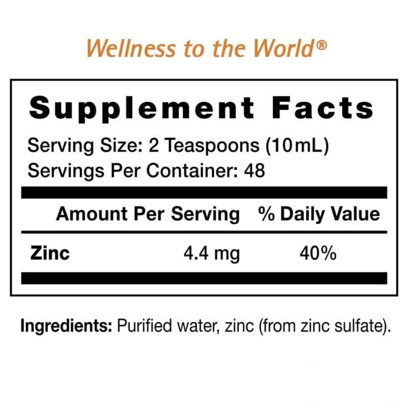 Zinc-Mineral-supplement-facts