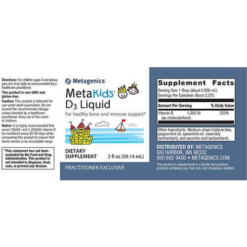 MetaKids™-D3-Liquid-supplement-fact