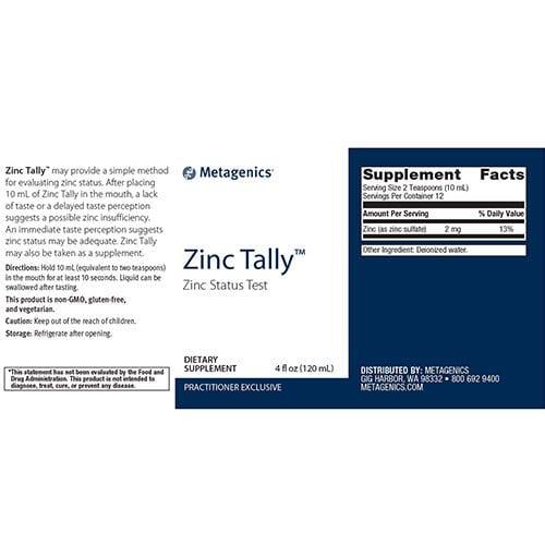Zinc-Tally™-supplement-fact
