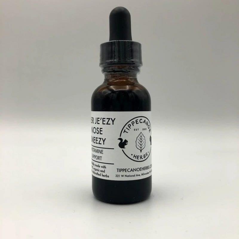 Allergy Tincture: Aller Je'ezy Nose Sneezy