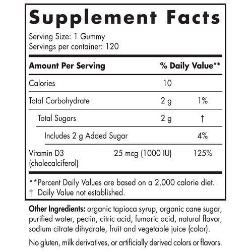 Vitamin D3 Gummies Sport 2