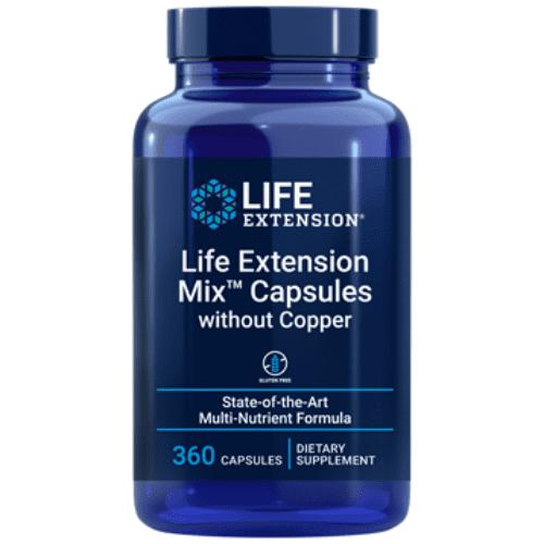 Life Extension Mix w/o copper 360 caps